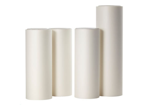 Good Quality Color PET Film & Low Matte Matte Protective Film , Good Flatness Milky White Polyester Film on sale