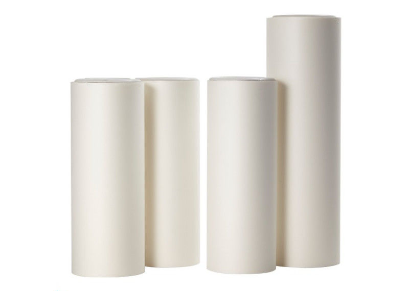 Low Matte Matte Protective Film , Good Flatness Milky White Polyester Film