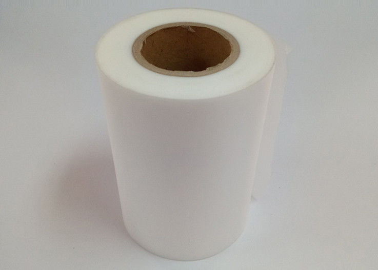Semi Transparent Frosted Film Roll PET Material Moisture Proof Custom Size