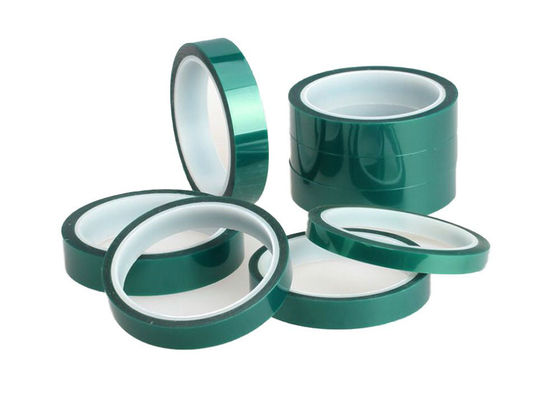Industrial Silicone Clear PET Tape Pressure Sensitive ROHS Approval