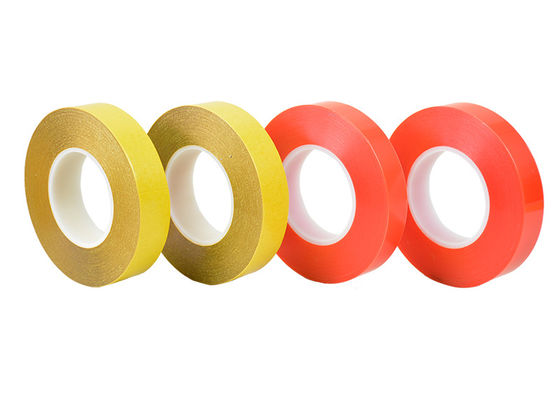 Single Sided Clear PET Tape 10 - 1000m Length Customized Thickness