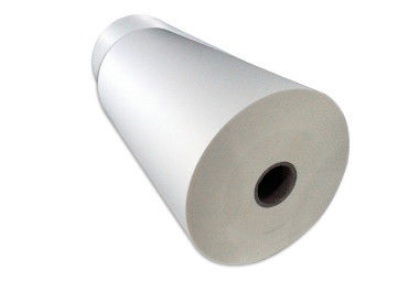 Foggy Surface Protection Matte Polyester Film , High Matte Packing PET Film Roll