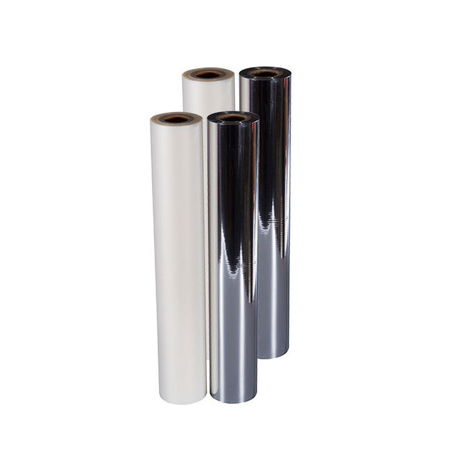 Soft Metallised Polyester Film , Moisture Proof Reflective Mylar