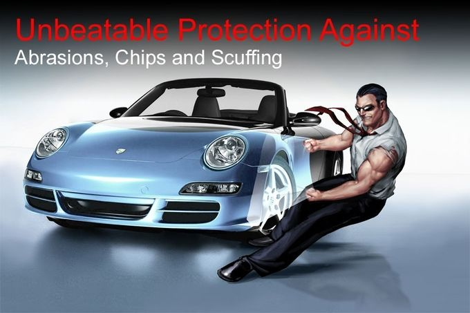Car Body Paint Protection Film Thin Amorphous Solar Panel Removable Glue