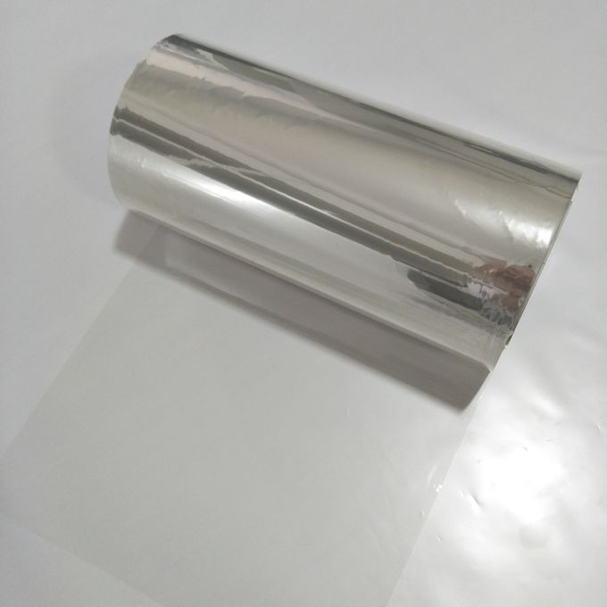 Stretch Transparent Mylar Film , Customized Dimension Transparent Plastic Sheet Roll