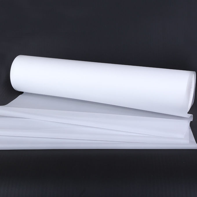 Single Side Frosted Film Roll For Decoration 50 - 150 Mic Thickness